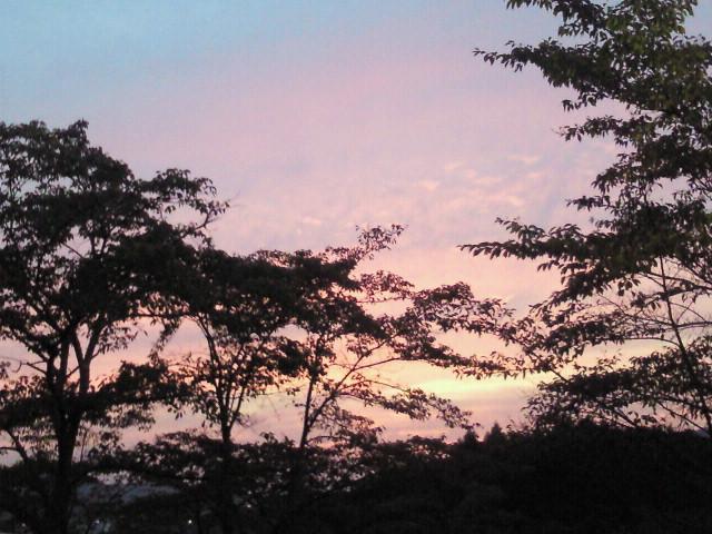 大和の夕焼け